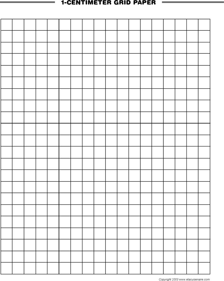 Centimeter Graph Paper Template Free Download Speedy