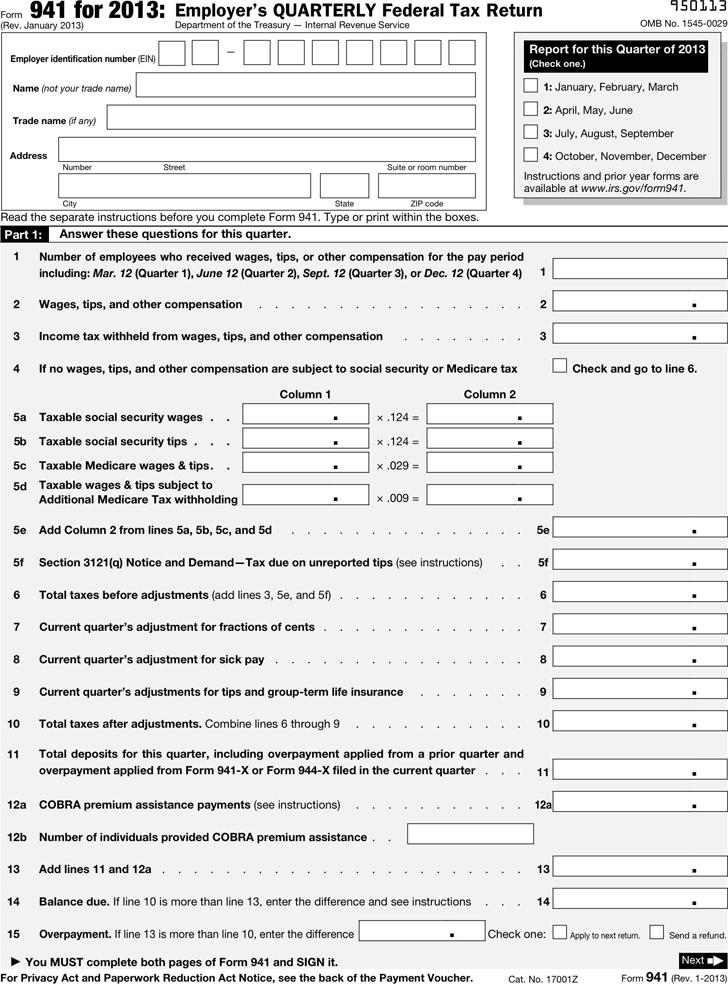941 form 2013  Free 16 Form 16 - PDF | 16KB | 16 Page(s)