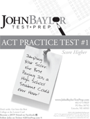 ACT Sample Test