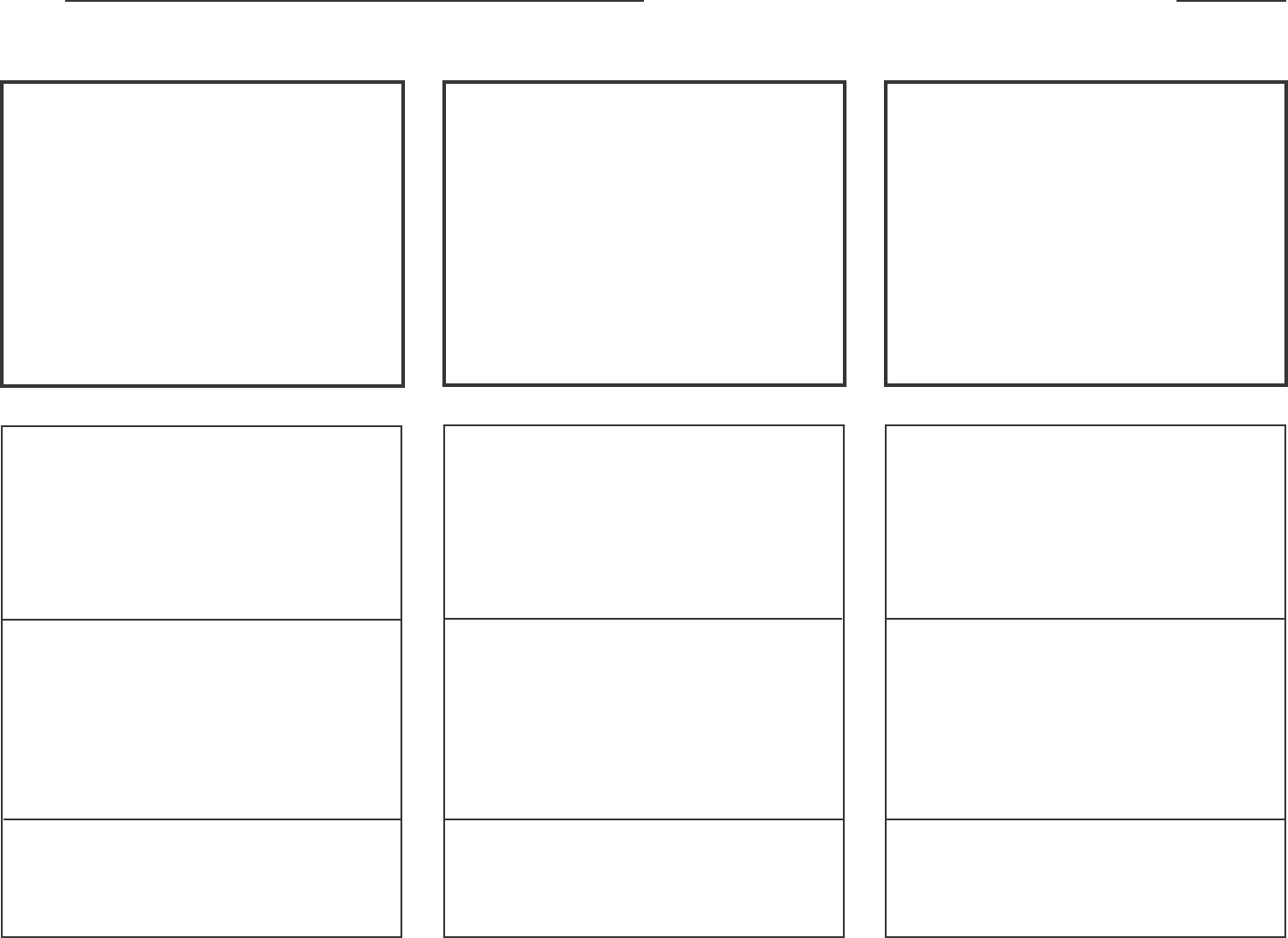 Free Horizontal Storyboard Template Pdf 1046kb 1 Pages