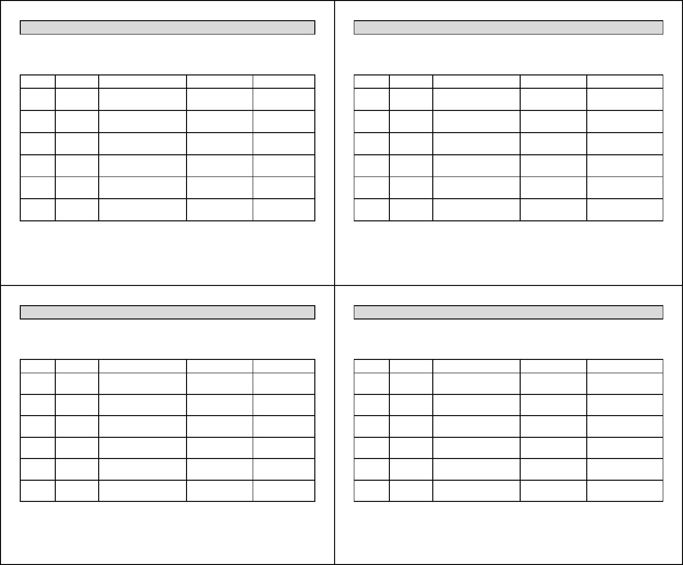 Free Euchre Player Score Card Pdf 174kb 1 Page S