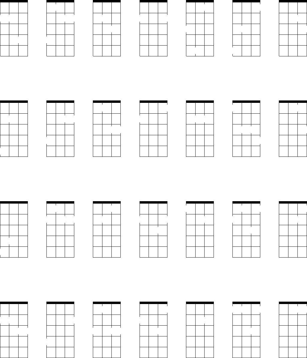 Free Mandolin Chord Chart Pdf 11kb 1 Pages A7 Diagram 2