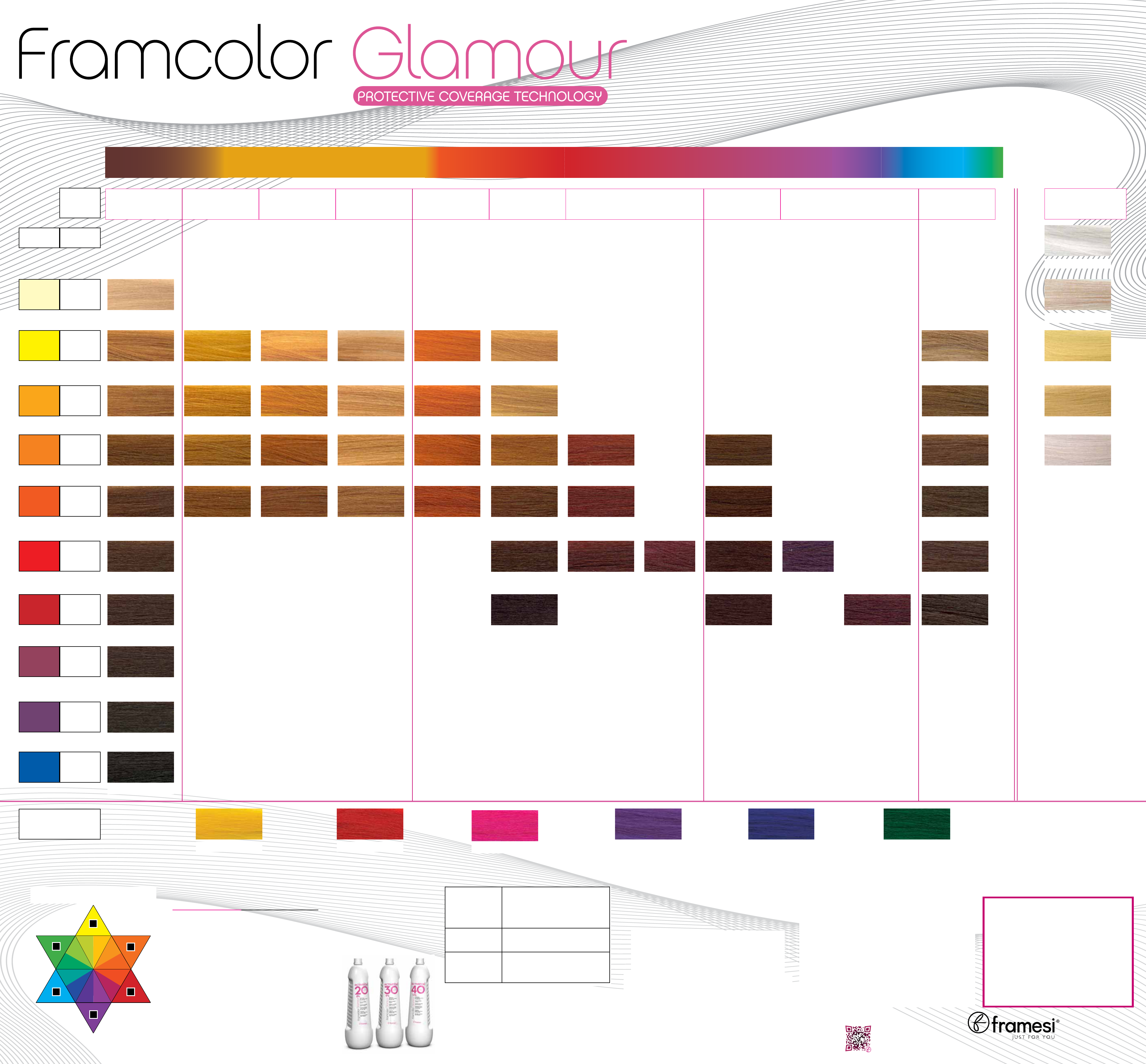 Free Framcolor Glamour Hair Color Wall Chart Pdf 788kb 1 Page S