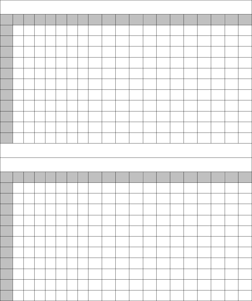 Free Multiplication Chart 12 X 2 Doc 70kb 1 Pages