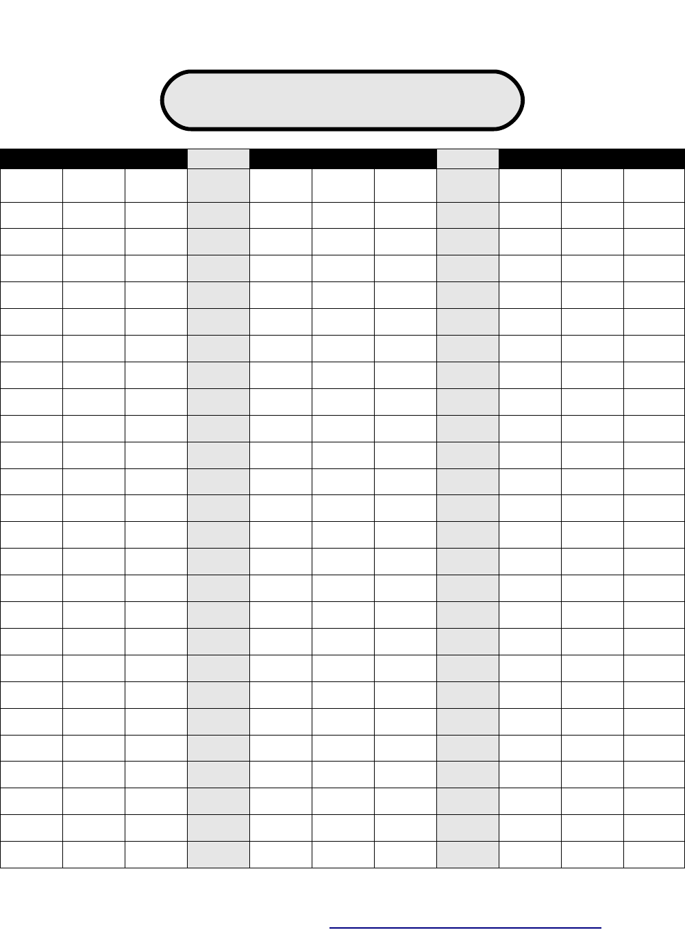 Free Place Value Chart Pdf 26kb 1 Pages