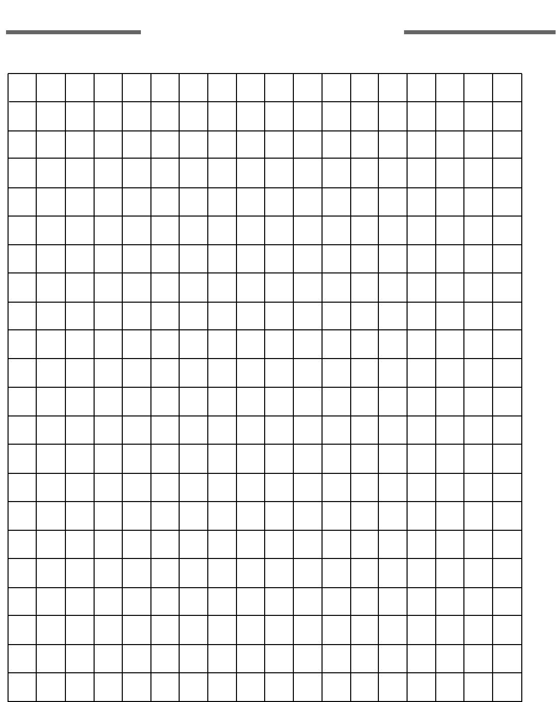 Free 1 Centimeter Grid Paper Pdf 70kb 1 Pages