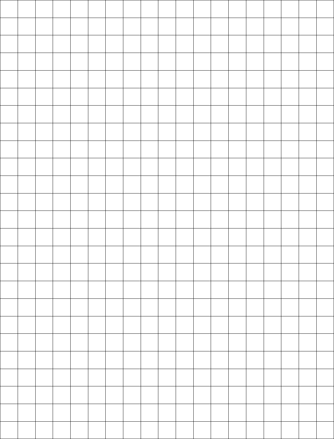 centimeter graph paper 1