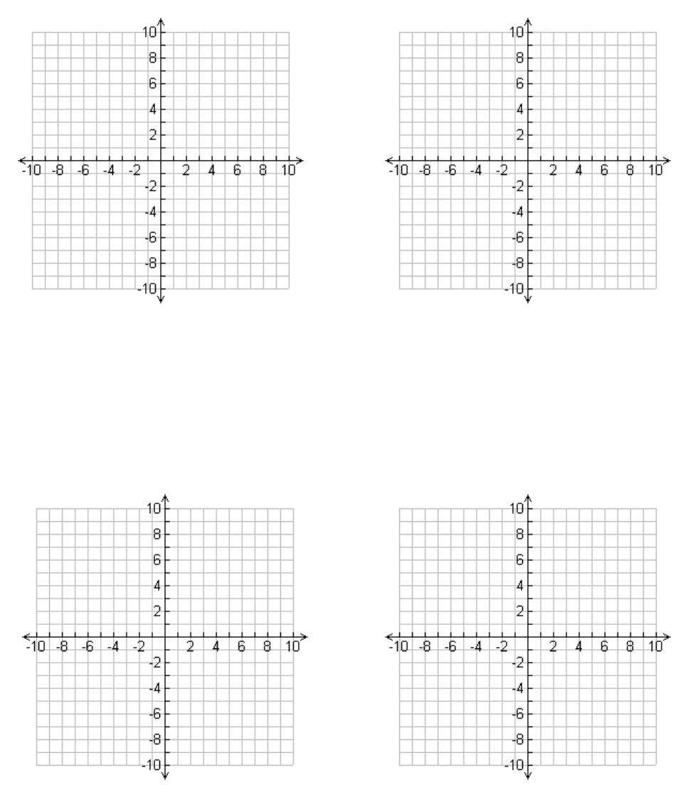 free one page with four 10x10 templates with labeled