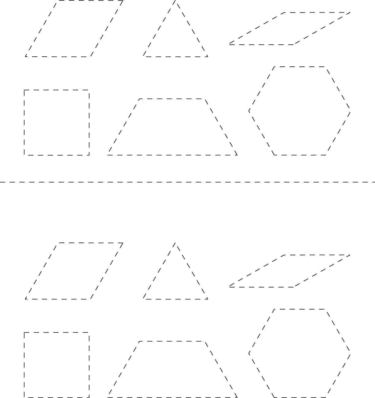 picture about Printable Pattern Blocks known as No cost Practice Block Template - PDF 499KB 1 Site(s)