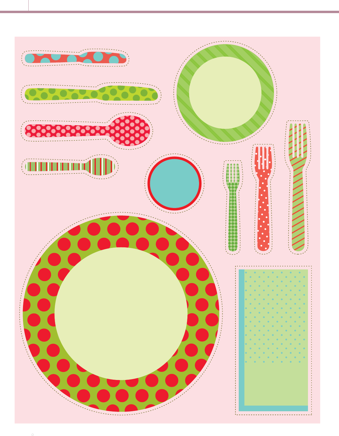 Free Place Setting Practice Template Pdf 165kb 1 Pages