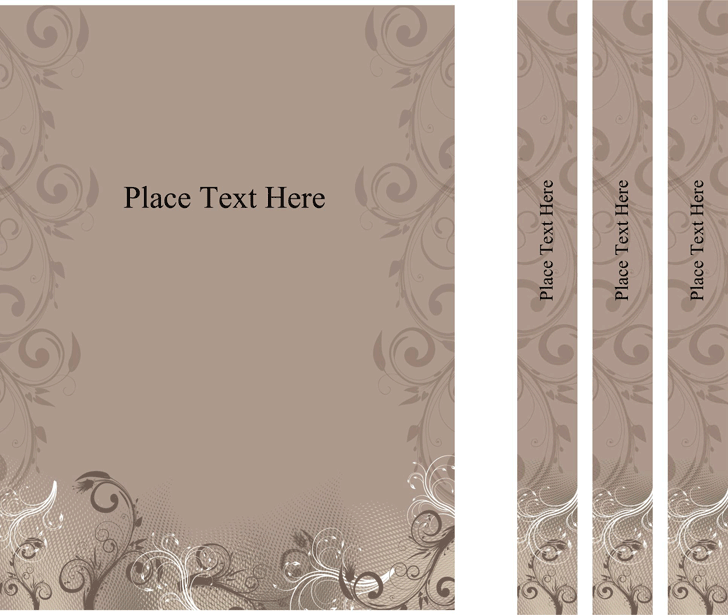 Free Binder Cover Templates - Doc