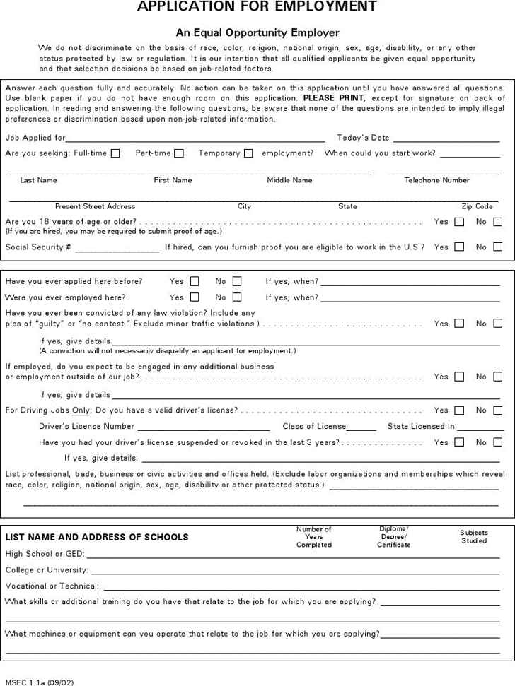 pizza hut job application form pdf