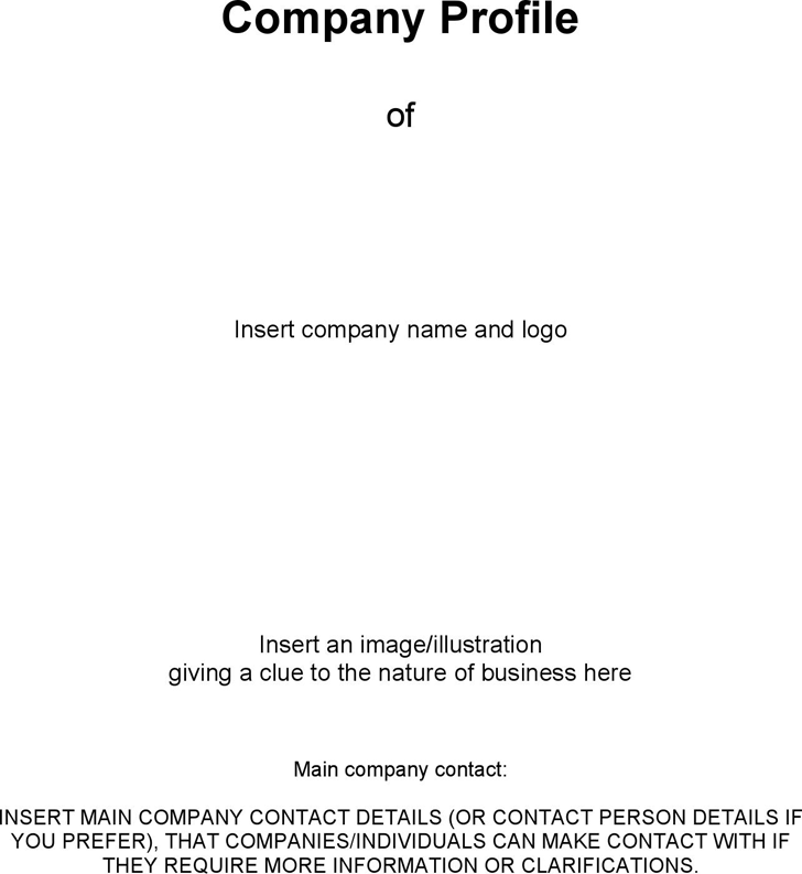 Company profile template template free download speedy template business company profile template accmission