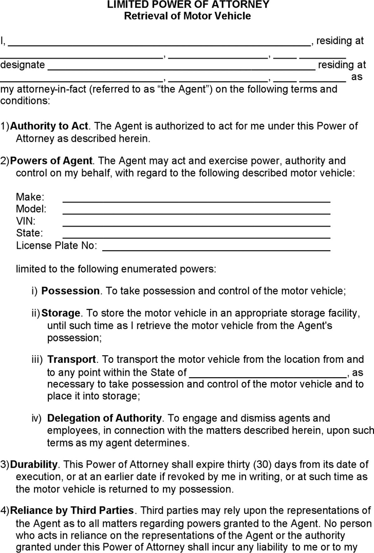 Power of Attorney Template Free Template DownloadCustomize and – Living Trust Form