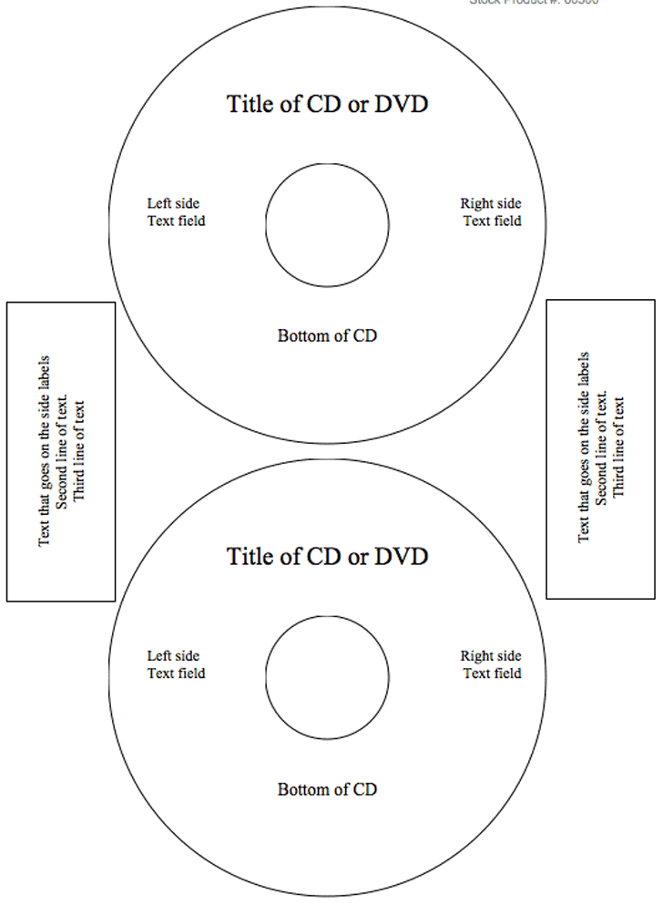 CD Label Template - Template Free Download | Speedy Template