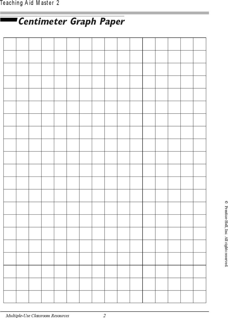 centimeter graph paper 2