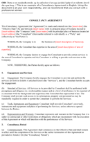 Consulting Contract Template