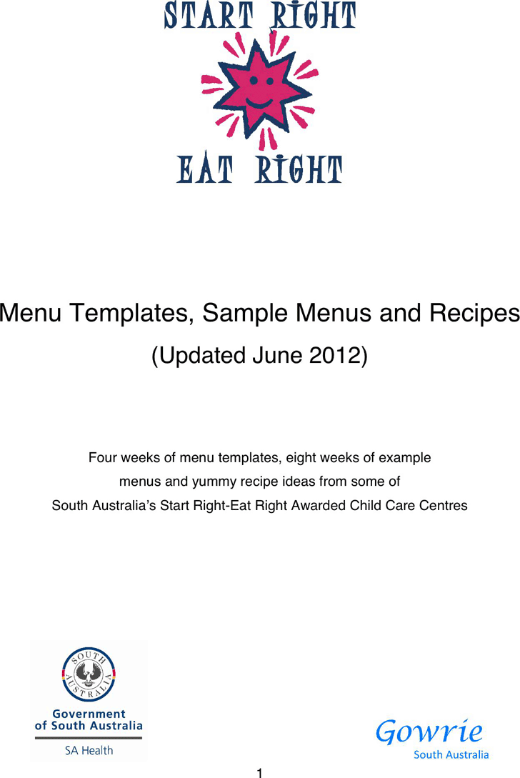 Cookbook Template Template Free Download Speedy Template
