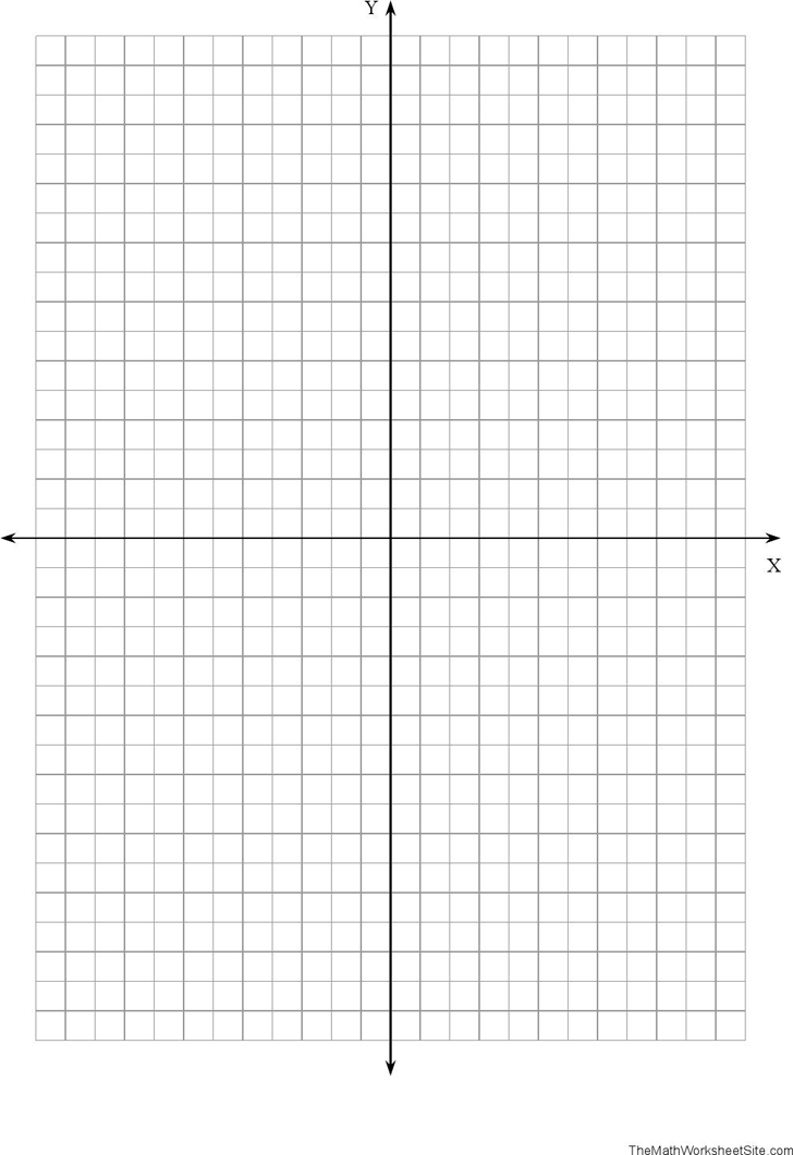 Free Coordinate Plane Graph Paper Pdf 4kb 1 Page S