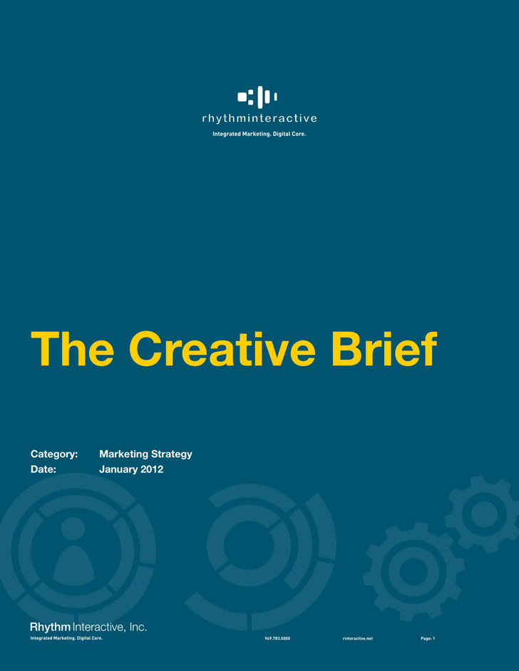 Free Creative Brief Template - PDF | 175KB | 5 Page(s)