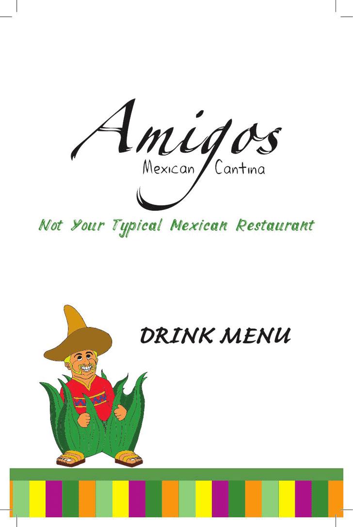 drink menu templates free