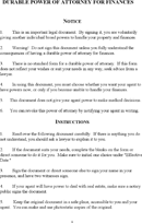 Power Of Attorney Template Free Template Download