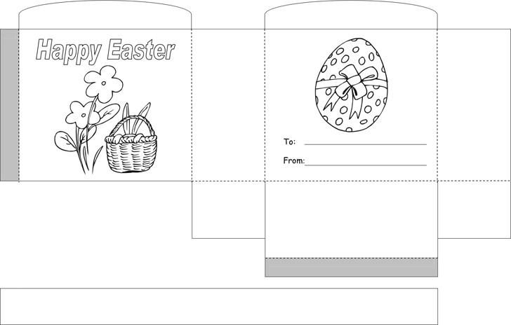 Free Easter Basket Template - PDF | 126KB | 1 Page(s)