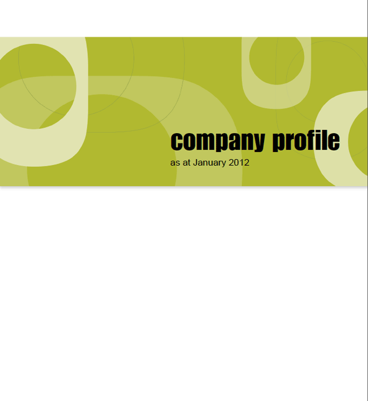 Free eco options company profile sample pdf 1366kb 16 pages eco options company profile sample altavistaventures Choice Image