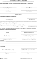 Employer Form