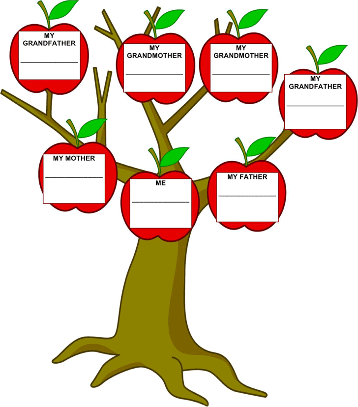 Family Tree Template Template Free Download Speedy Template