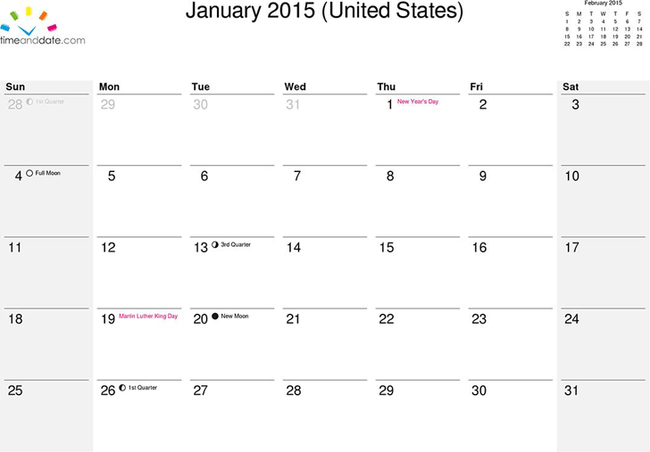 Free February 2015 Calendar Template Images Template Design Free