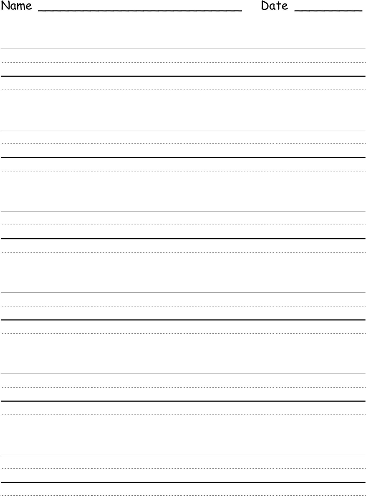 Free Four Lined Paper Template - dot | 39KB | 1 Page(s)