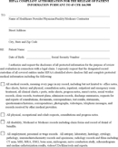 medical records release form generic medical records release letter template