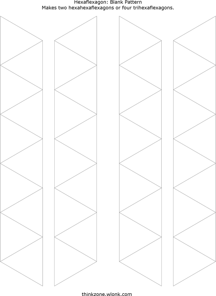 Free Hexaflexagon Template - PDF | 873KB | 4 Page(s) | Page 2