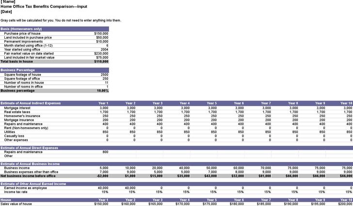 comparison matrix template