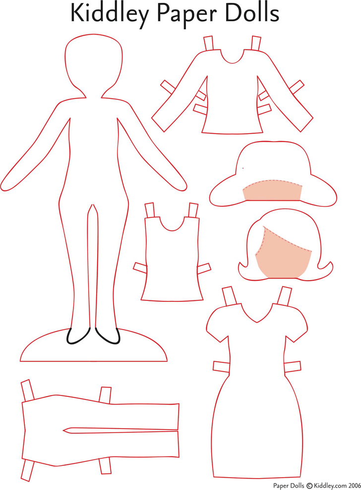 Paper doll template template free download speedy template paper doll template maxwellsz