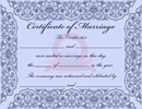 Marriage Certificate
