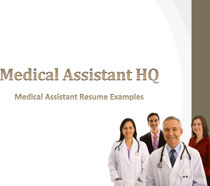 Medical Assistant Resume Sample 2
