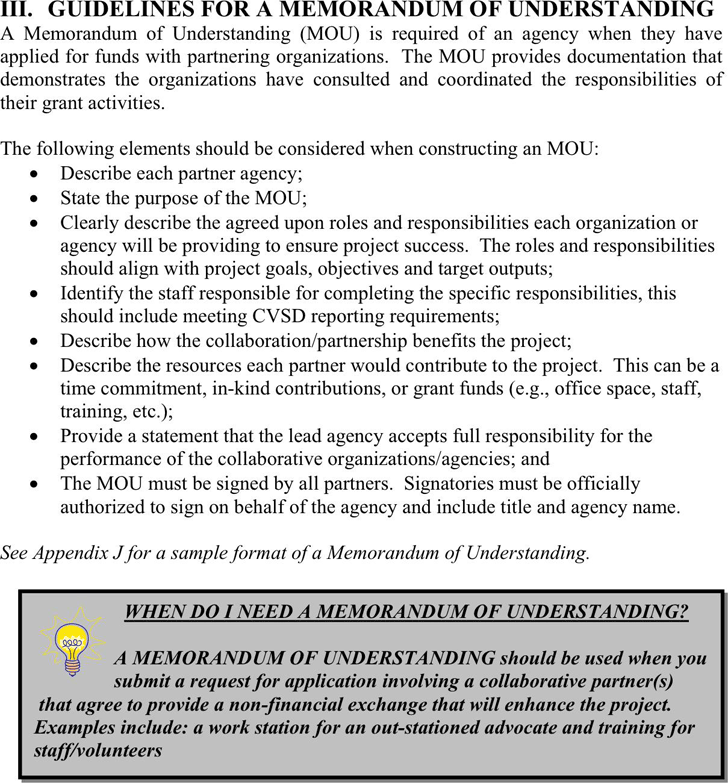 Modern document of understanding template crest professional free memorandum of understanding template pdf 27kb 3 pages spiritdancerdesigns Gallery