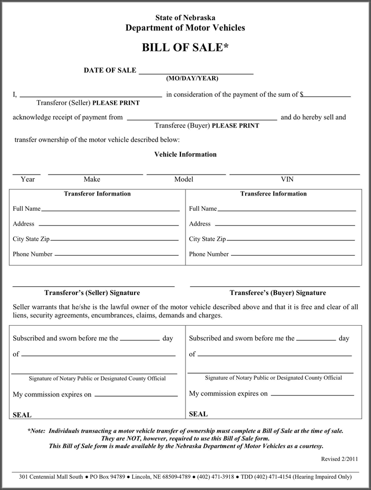Bill of sale template free template download customize for Motor vehicle warranty example