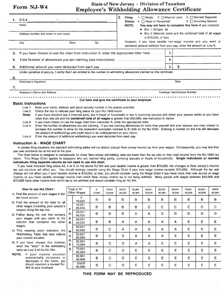 State Tax Withholding Forms - Template Free Download | Speedy Template
