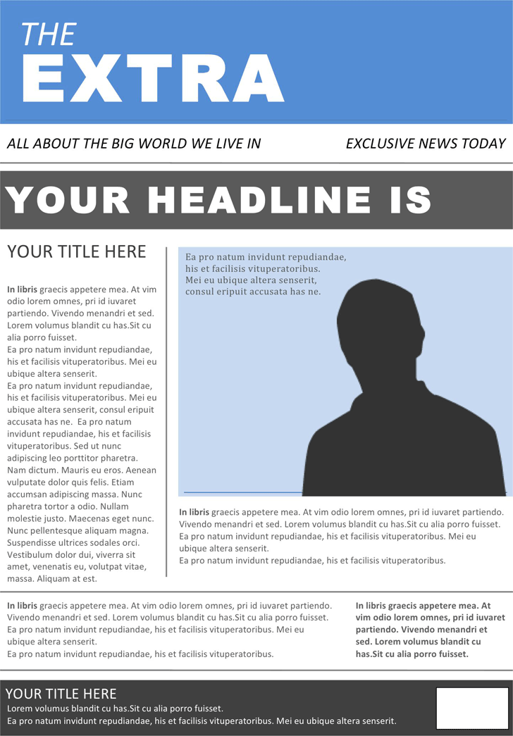 Newspaper Template 4