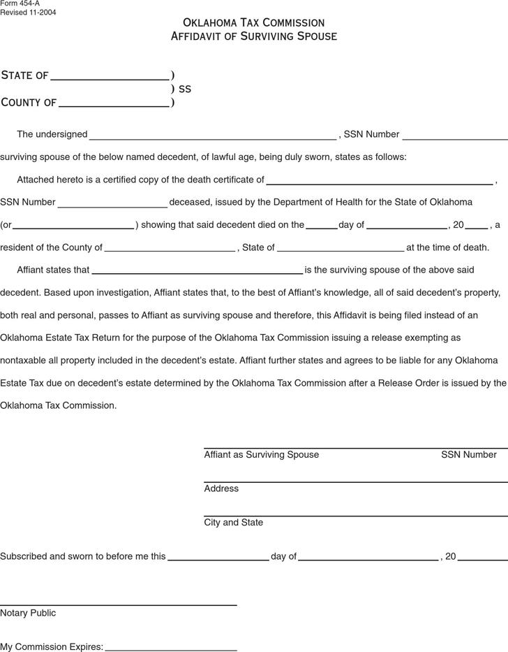 Doc400518 Affidavit Template Sample Affidavit Free Sworn – Affidavit Template Free