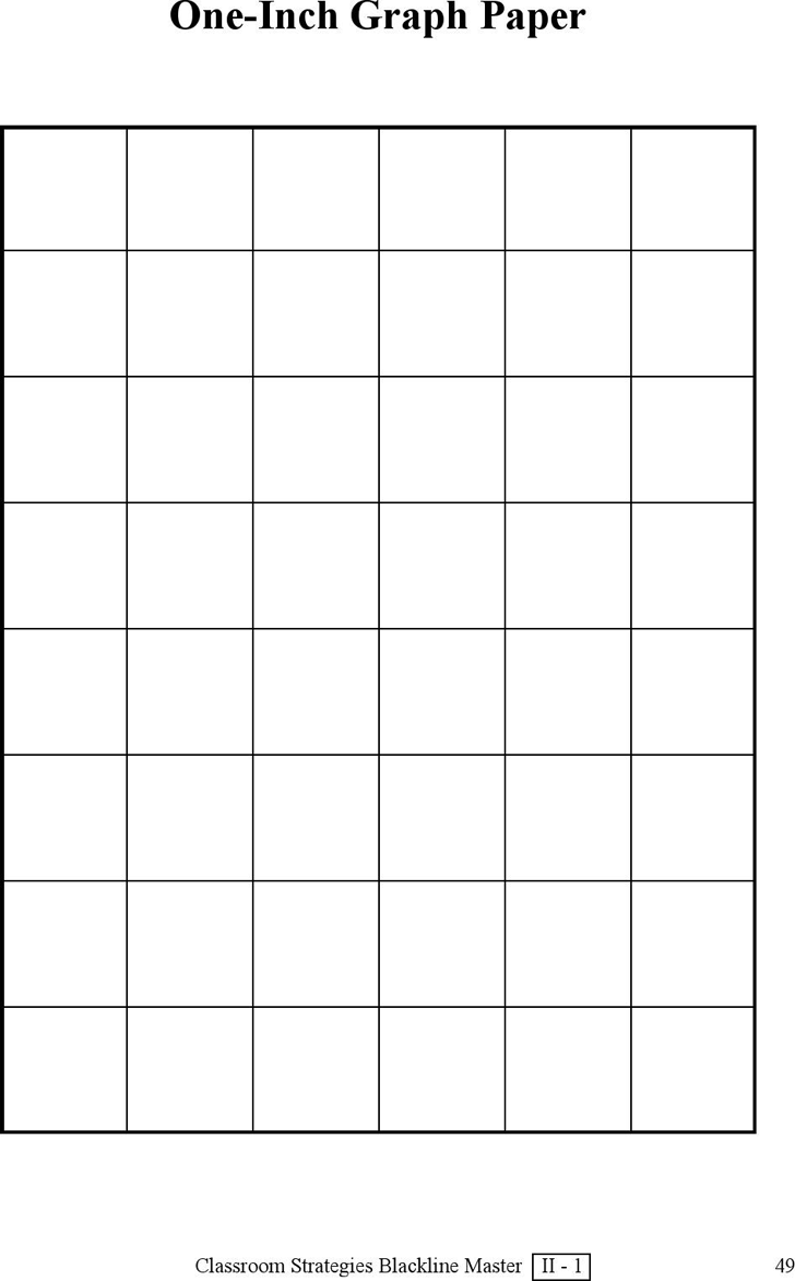1 Inch Graph Paper Template Free Download Speedy Template