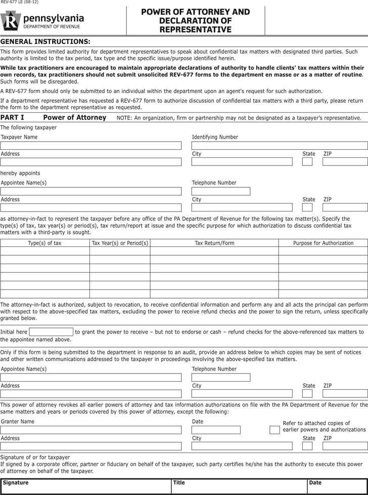 Power Of Attorney Template Free Template Downloadcustomize And Print