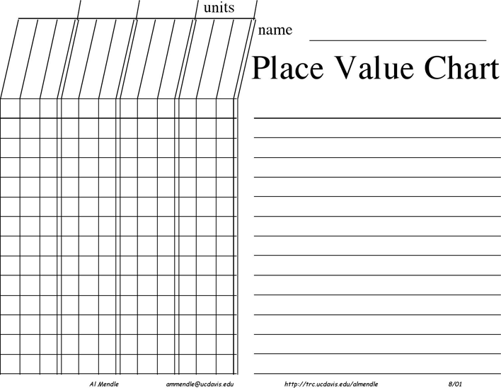 Free Place Value Chart Pdf 57kb 9 Pages Page 6