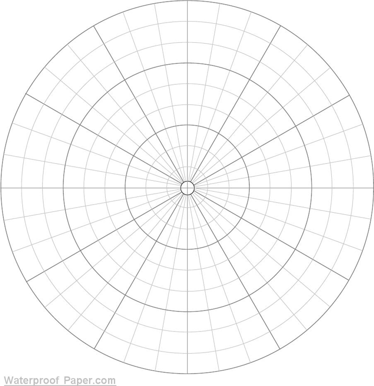Polar Graph Paper - Template Free Download | Speedy Template