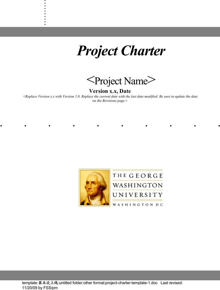 Project Charter Template - Template Free Download | Speedy Template