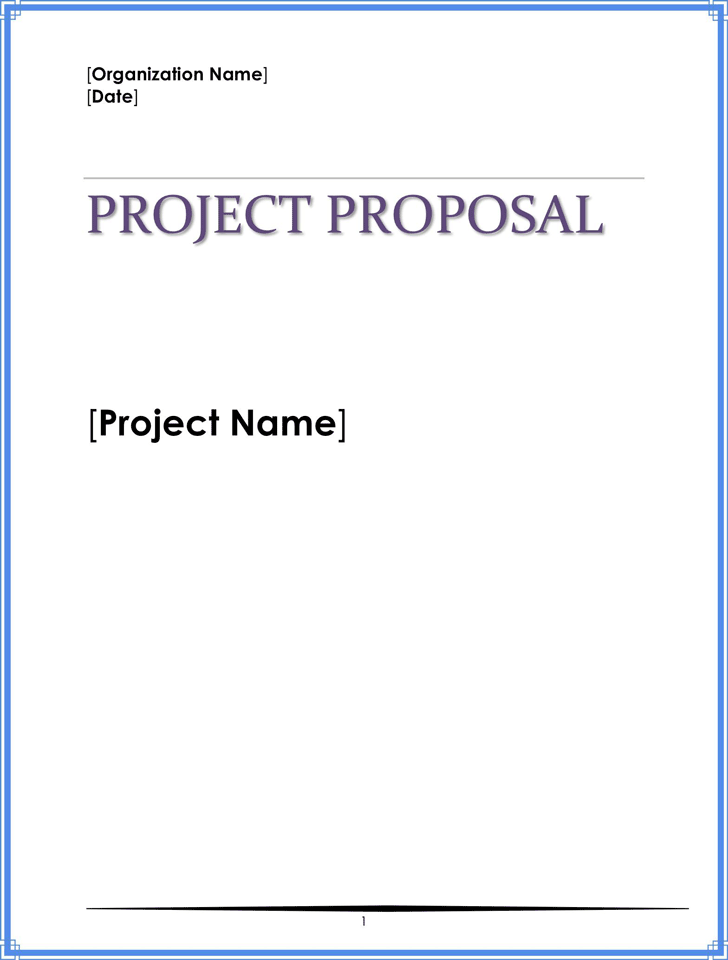 Project Proposal Template 1