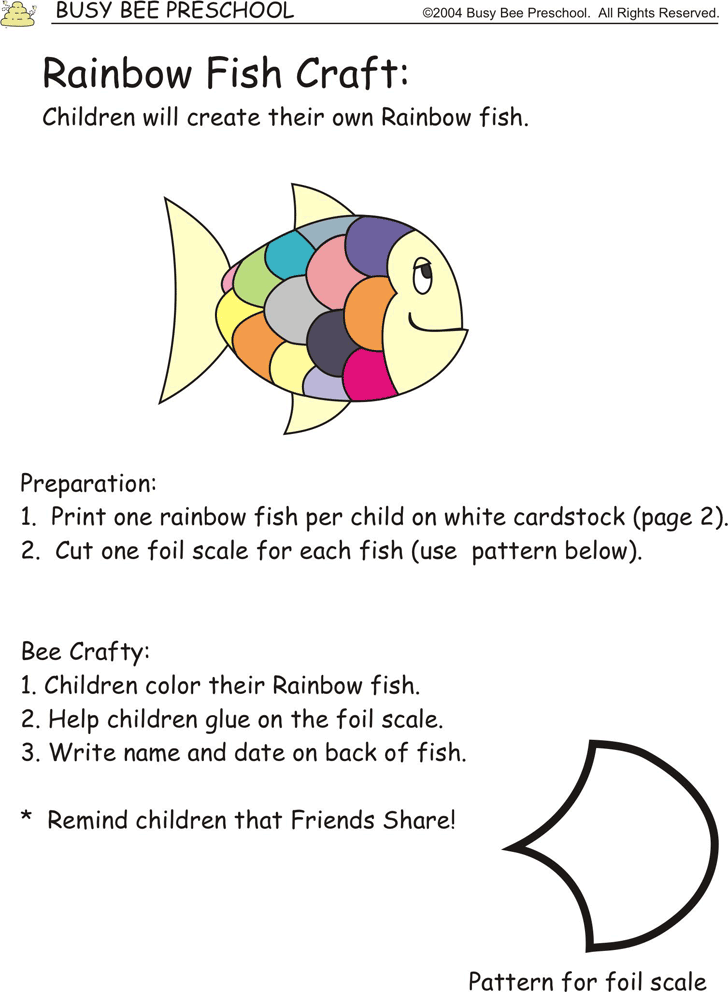 Fish Template - Template Free Download | Speedy Template